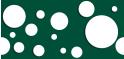 PVC Design Streifen Motiv Kreise-moosgrün - weiß-3er Pack