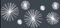 M-tec design Motiv Linienstern anthrazit -  weiß