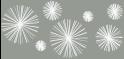 M-tec design Motiv Linienstern steingrau -  weiß