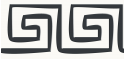 PVC Design Streifen Motiv Mäander-weiß - anthrazit-9er Pack