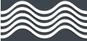 PVC Design Streifen Motiv Wave-anthrazit - weiß-3er Pack