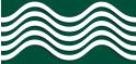 PVC Design Streifen Motiv Wave-moosgrün - weiß-3er Pack